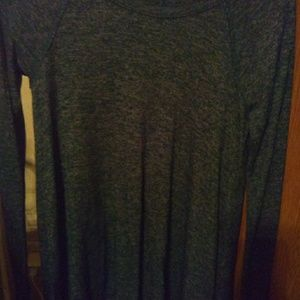 Hollister dark olive green sweater~small